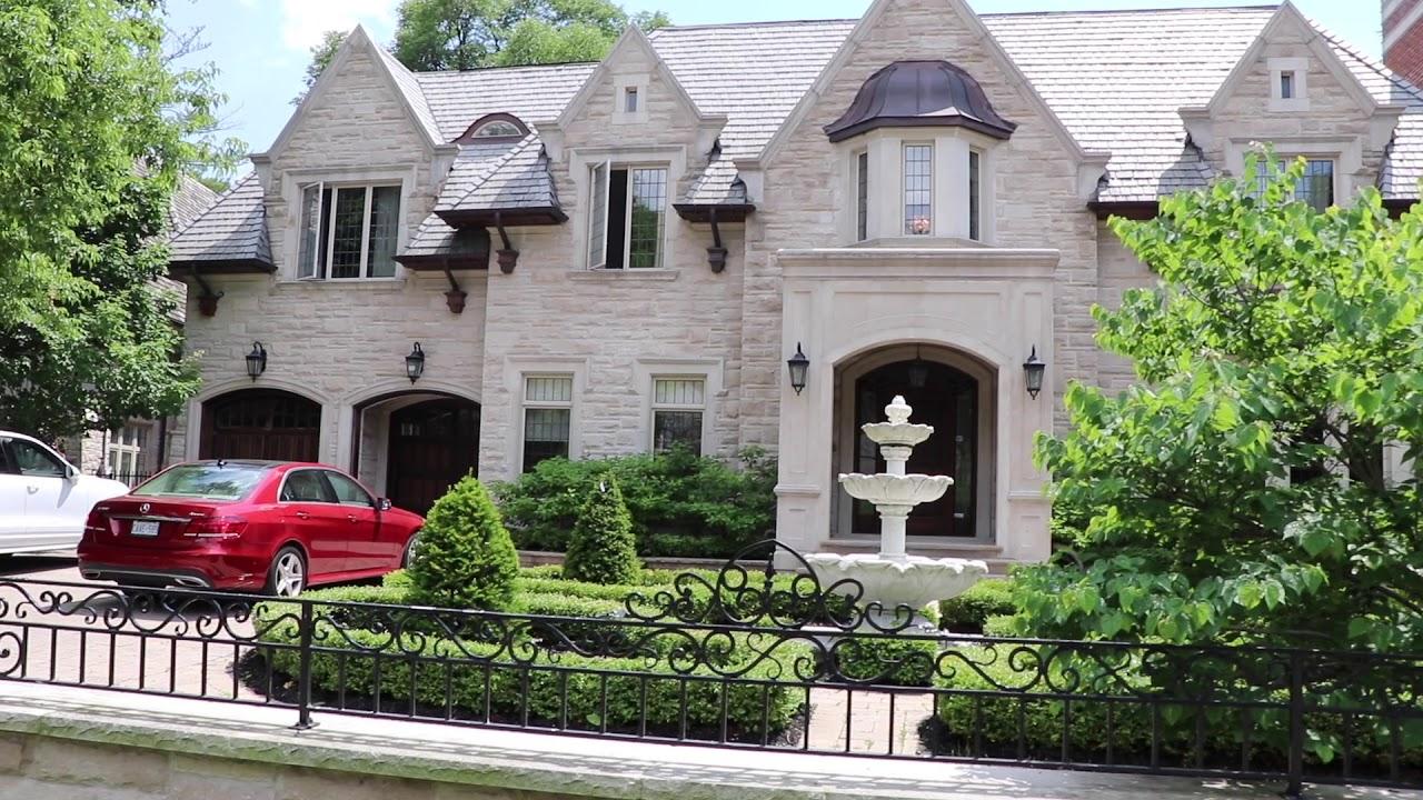 Hoggs Hollow-самые красивые дома и районы Торонто.