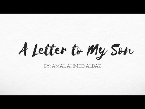 A Letter To My Son || Spoken Word Poetry