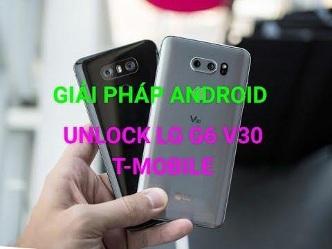 Unlock Sim Network LG G6 V30 T-mobile Unlock LG H872 H932 - YouTube