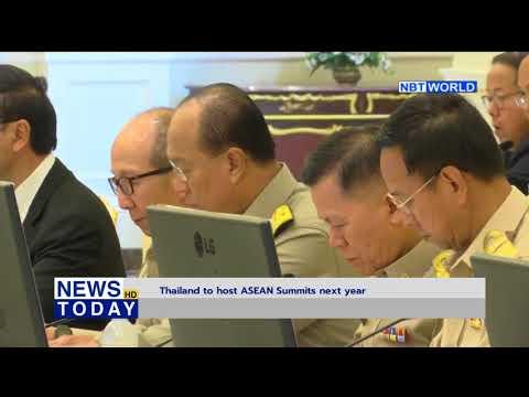 Thailand to host ASEAN Summits next year