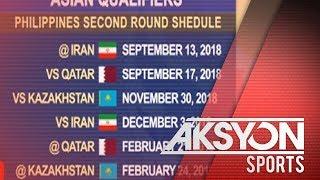 Gilas Pilipinas, itutuloy ang kampanya sa Asian Qualifiers sa Setyembre