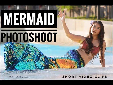 Mermaid Photoshoot at Wild Wadi Water Park Dubai | Short Video Clips | Wynn Mark's Vlog