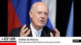 """""""Une feuille de route pour la Syrie"""" (Géopolitique)"""