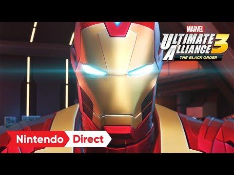 MARVEL ULTIMATE ALLIANCE 3: The Black Order [Nintendo Direct 2019.2.14]