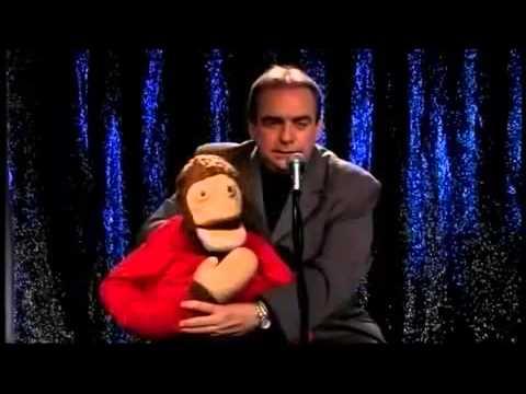Carlos Donoso y el mono Kini