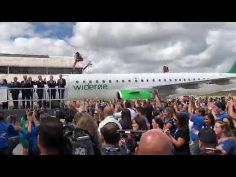 Embraer E190-E2 Delivery Ceremony