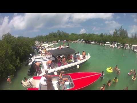 Mauritius water party, Bernache 2012