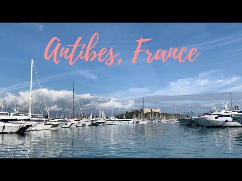 Antibes France 4k Travel Walking Tour