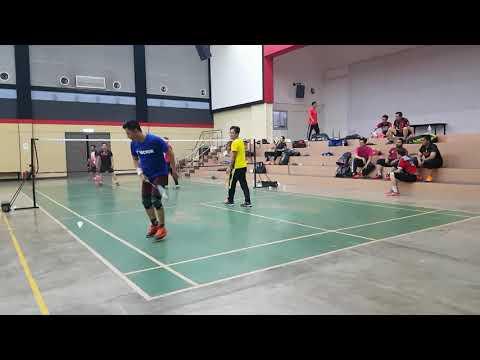 Badminton SUBC Open Court Kecik & Kamal Vs  Awe & Saleh