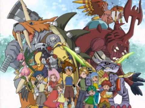 Las mejores canciones de Digimon