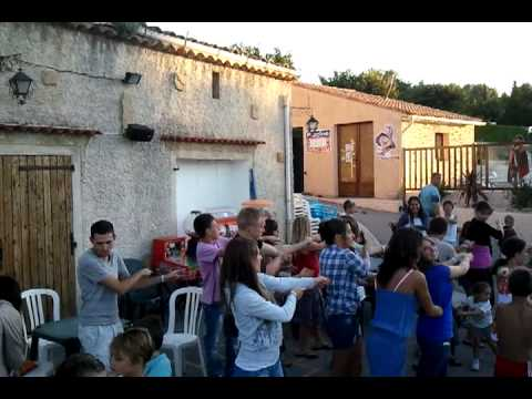 Danse Du Camping De La Malissonne Aout 2011