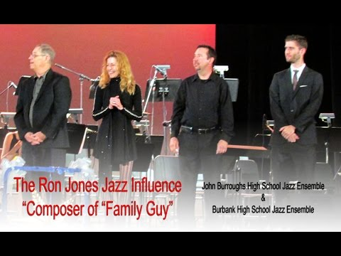 The Ron Jones Jazz Influence - JBHS and BHS Jazz Bands 2014