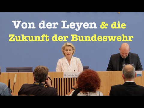 """""""Weißbuch 2016"""": Ursula von der Leyen über die Zukunft der Bundeswehr - BPK vom 13. Juli 2016"""