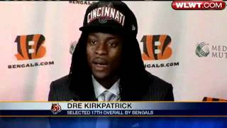 Bengals Introduce First-Round Draft Picks