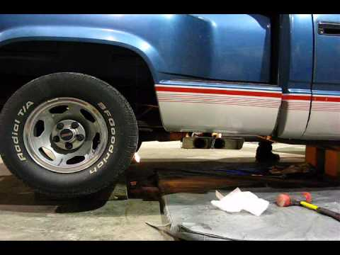 1990 Gmc C1500 5 7l V8 With Gibson Super Truck Exhaust