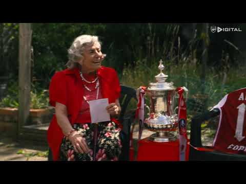 IT'S THE CUP?! | Arsenal legends shock fans with the Emirates FA Cup for the surprise of a lifetime