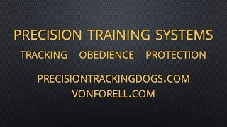 How To Train Your Dog To Track - Ipo - Ankc - Sar - Police  - Www Precisiontrackingdogs Com