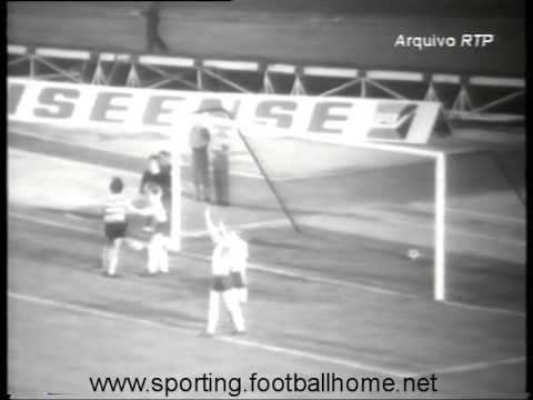 Sporting - 4 x Lyn Oslo (Noruega) - 0 de 1971/1972 Taça das Taças - 1 Elim - 1 mão