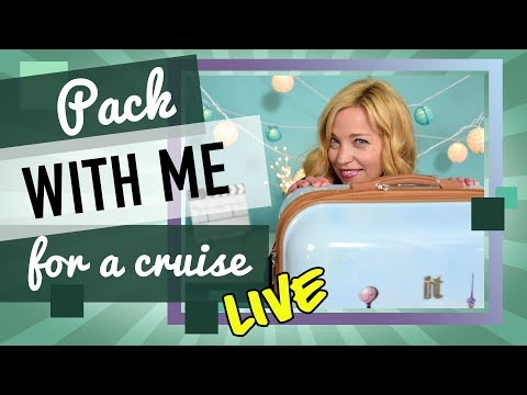 Pack With Me For A Cruise - Live