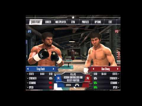 Real Boxing игра на двоих