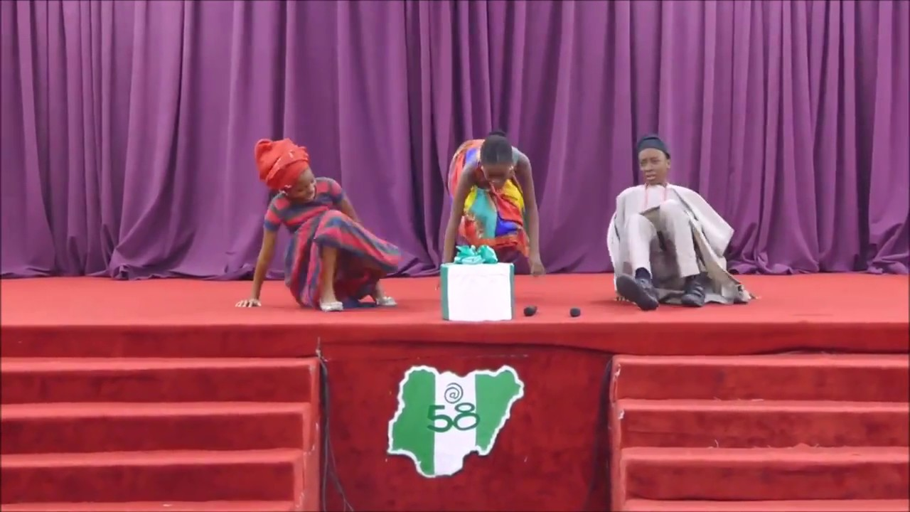 Download A play from Temple Primary about the diversity and strength of Nigeria