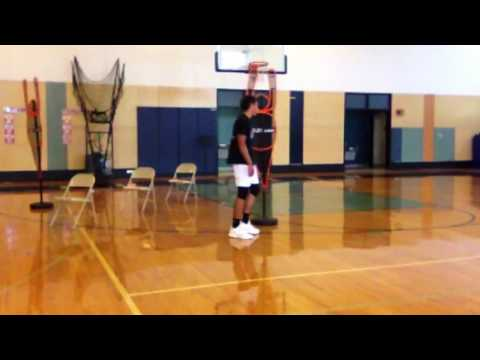 "Zach Taylor 6'2"" Rising Junior Combo Guard Day #4 Workout with Basketball Addict's Dwayne Bryant"