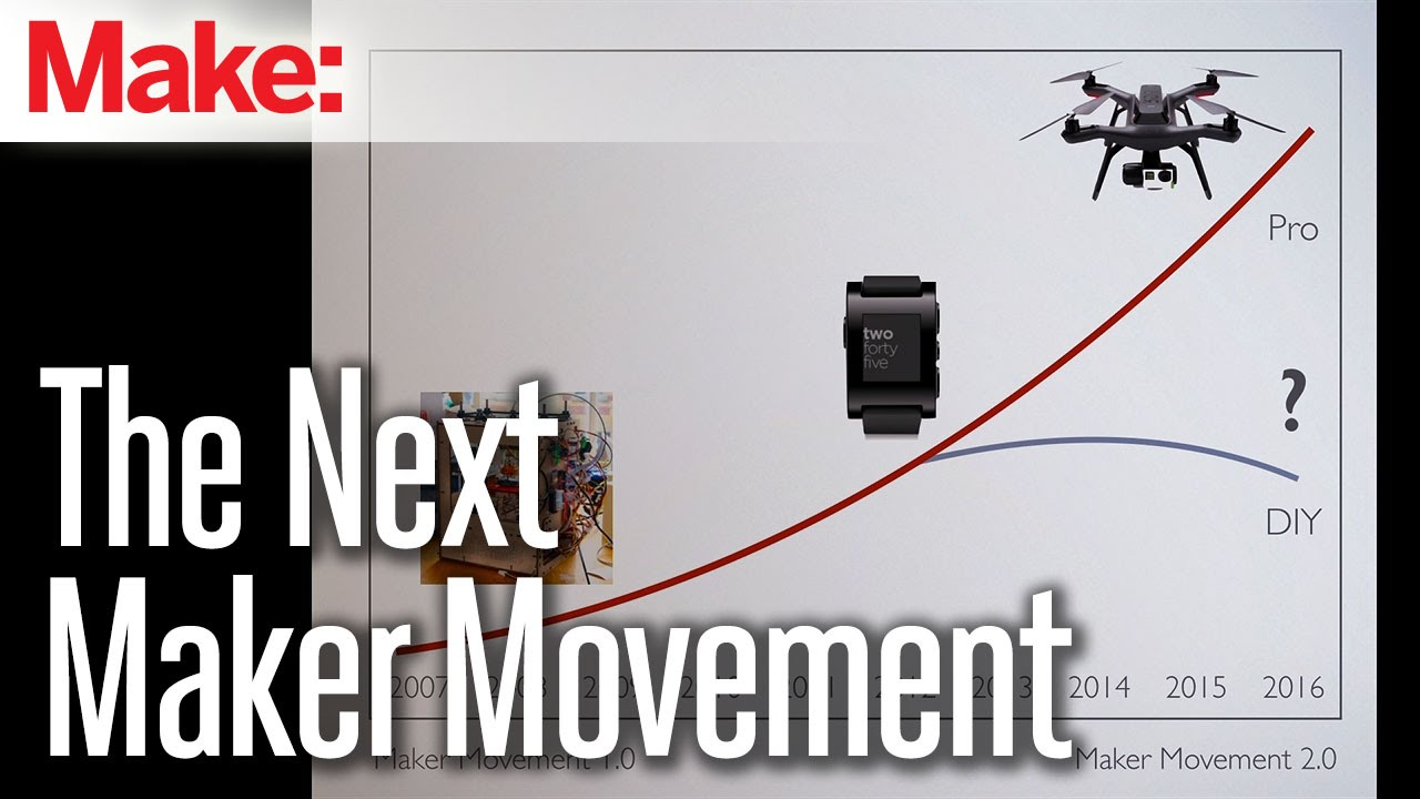The Next Maker Movement Youtube