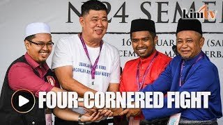 EC confirms four-cornered fight for Semenyih