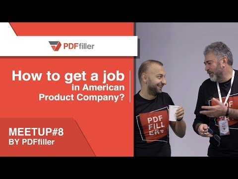How to get a job in American Product Company (Writing a resume and going to the interview)