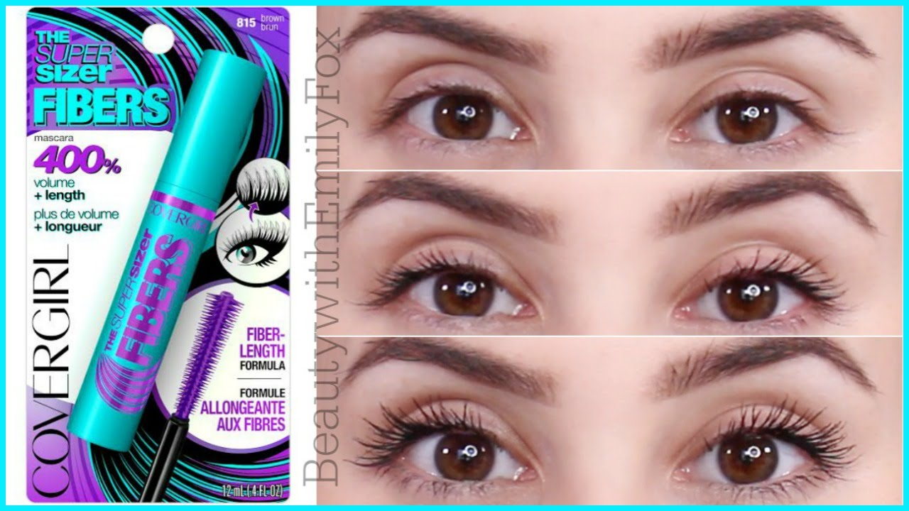 c1be1177ea8 NEW Covergirl The Super Sizer Fibers Mascara - First Impression - YouTube