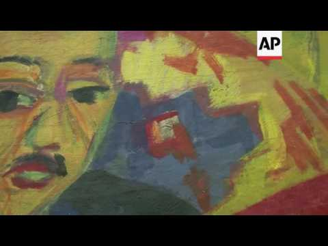 Berlin art exhibition showcases the expressionism of Ernst Ludwig Kirchner