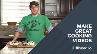 How To Make Delicious Cooking Videos   The Food Series - Filmora.io