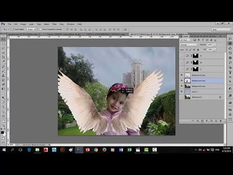 Basic Photoshop cs6 Tagalog tutorials for beginners (refine edge)