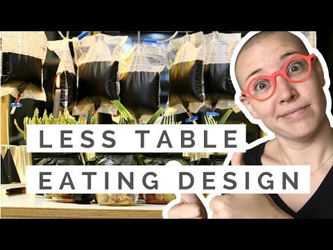 Eating Design with Less Table   Food Designer Profile