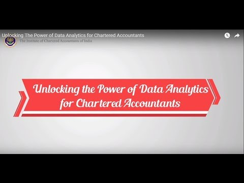 Unlocking The Power of Data Analytics for Chartered Accountants