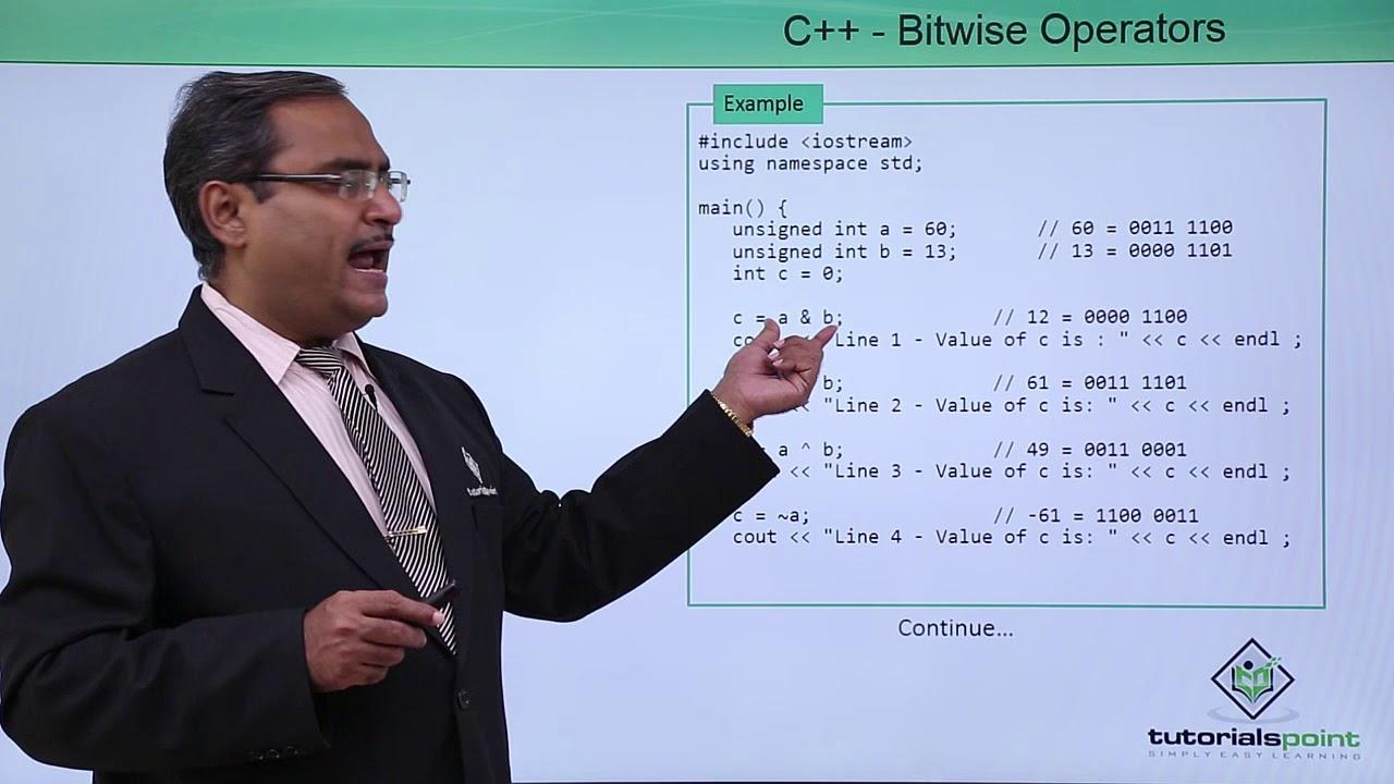 C bitwise operators youtube c bitwise operators tutorials point baditri Choice Image