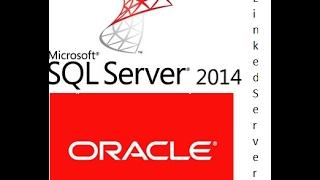 Yapılandırma SQL Server, Oracle veritabanı Sunucusuna bağlanmak için Bağlantılı