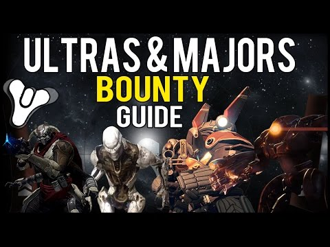 Destiny: Location For Easy Fallen, Hive, Cabal, and Vex Majors & Ultras Bounty! (Easy Bounty Guide)