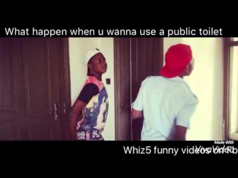 Public toilet in africa