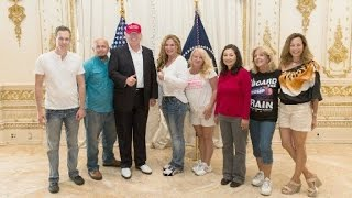 Trump supporters surprised in Mar-A-Lago