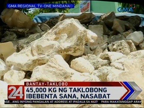 24 Oras: 45,000 kg ng taklobong ibebenta sana, nasabat