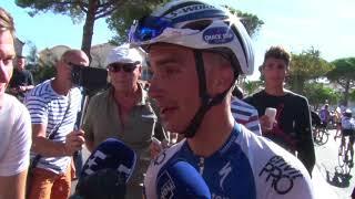Julian Alaphilippe - interview d'arrivée - 2e étape - Tour d'Espagne / Vuelta a España 2017