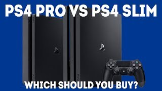 PS4 Pro vs PS4 Slim - Which Console Should You Buy In 2018?