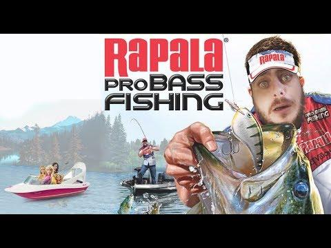(Live) Decouverte Rapala pro Bass Fishing Xbox 360