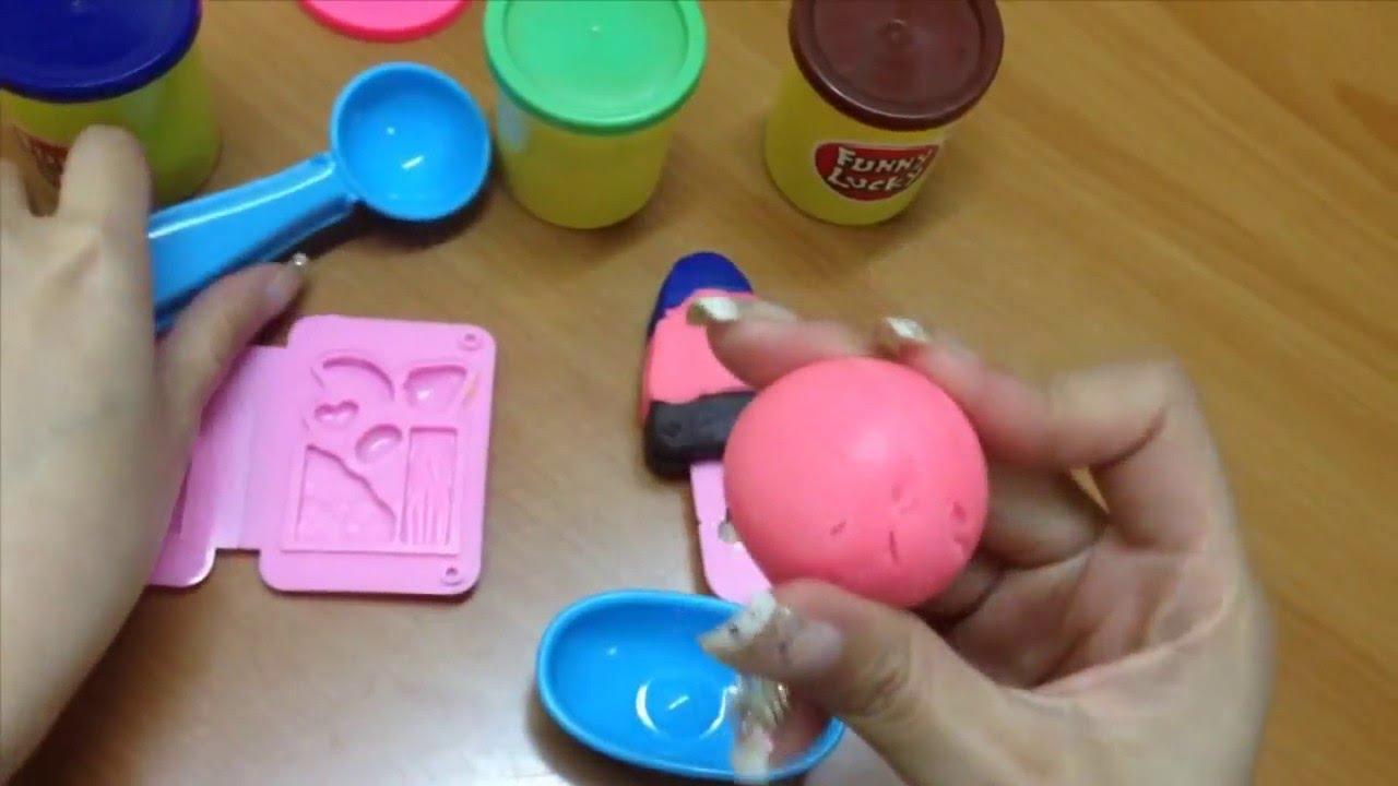 Instructions on how to make ice cream – Thế Giới Đất Nặn – Đất nặn cho bé – Hướng dẫn làm kem