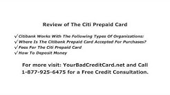 Review of The Citi Prepaid Card