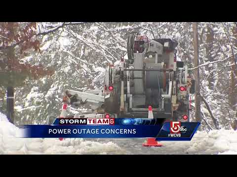 Power being restored across Massachusetts ahead of next nor'easter