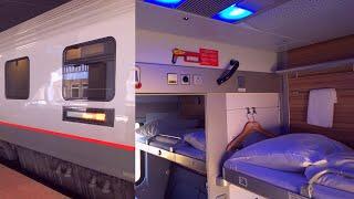 Berlin - Warsaw with Russian EuroNight Train Paris - Moscow Поезд Париж - Москва