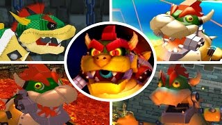 Evolution of Mecha Bowser Battles (2000-2017)