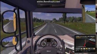 Euro Truck Simulator - Direksiyon Seti İle